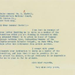 Letter : 1933 March 13