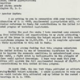 Letter : 1955 April 7