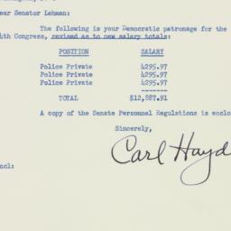 Letter : 1955 August 19