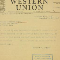Letter : 1937 November 20