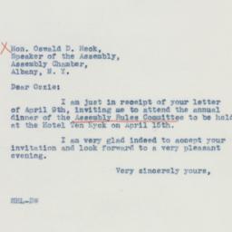 Telegram : 1942 April 10
