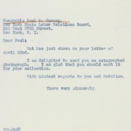 Letter : 1942 April 24