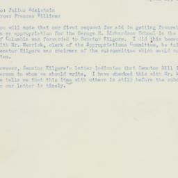 Letter : 1951 April 13