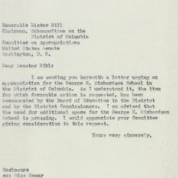 Letter : 1951 April 14