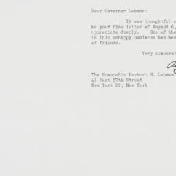 Letter : 1948 August 13
