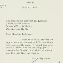 Letter : 1956 May 4