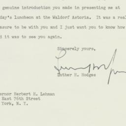 Letter : 1961 April 17