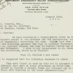 Letter : 1932 January 16