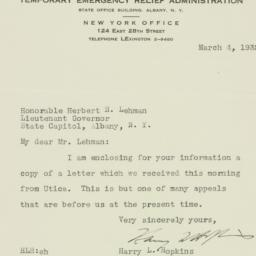 Letter: 1932 March 4