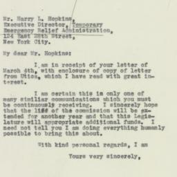 Letter: 1932 March 7