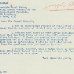 Letter: 1940 January 6