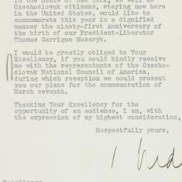 Letter: 1941 February 19