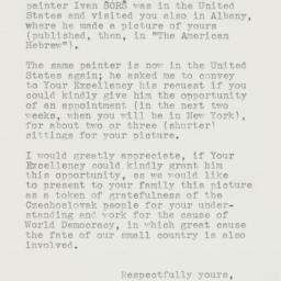 Letter: 1941 April 2