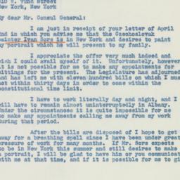 Telegram: 1941 April 5