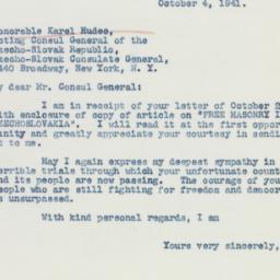 Pamphlet : 1941 October 4