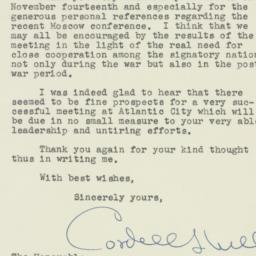 Document : 1943 November 16