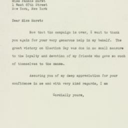 Letter: 1949 November 22