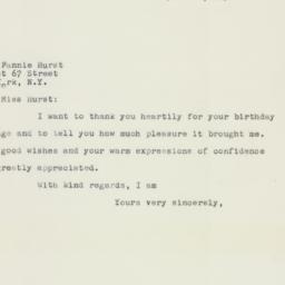 Letter: 1958 April 14