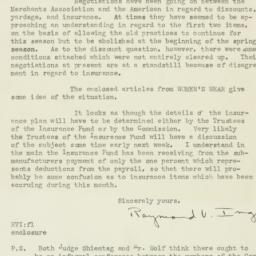 Letter : 1925 August 28