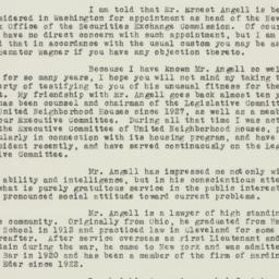 Letter : 1936 February 3