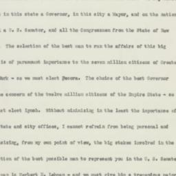 Memorandum : 1950 October 29