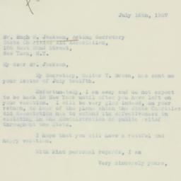 Letter : 1937 July 16