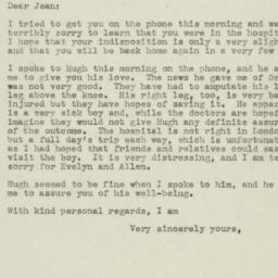 Letter : 1945 March 19
