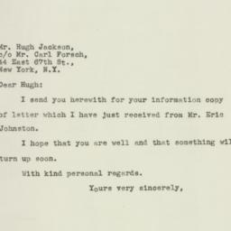 Letter : 1945 October 13