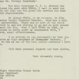 Letter: 1947 December 11