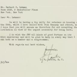 Letter : 1948 January 30