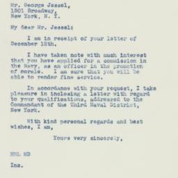 Letter : 1941 December 13