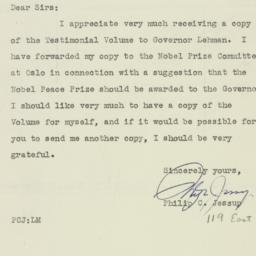 Letter : 1947 March 12