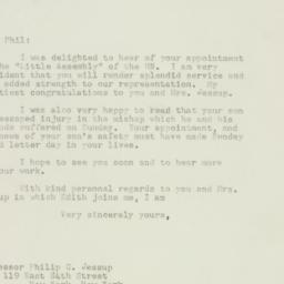 Letter : 1948 January 6