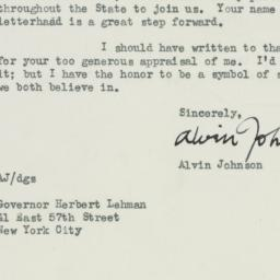 Letter : 1947 May 26