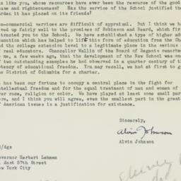 Telegram : 1948 February 3