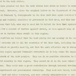 Press release : 1954 March 19