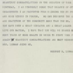 Telegram : 1954 December 15