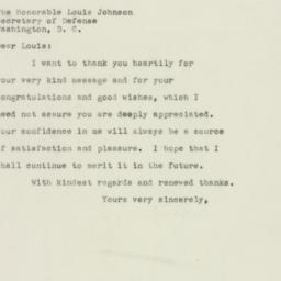 Letter : 1949 December 1