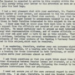 Letter : 1955 October 11