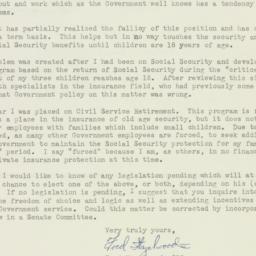 Letter : 1956 January 29