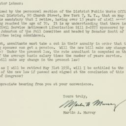 Letter : 1956 March 7