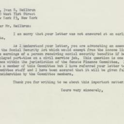 Letter : 1956 March 23