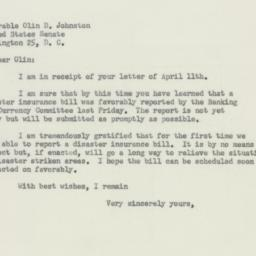 Letter : 1956 April 16