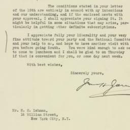 Letter : 1927 September 20