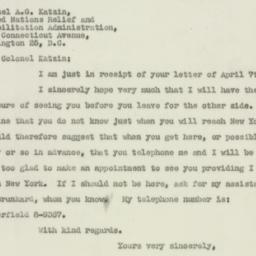 Letter : 1947 April 10