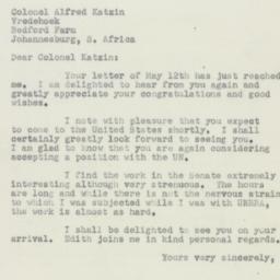 Letter : 1950 June 2