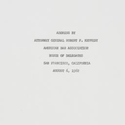 Letter : 1962 August 6