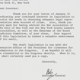 Letter : 1963 February 11