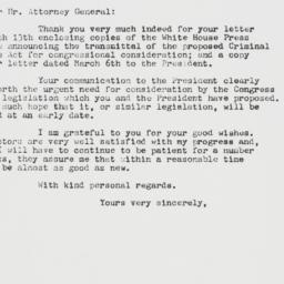 Letter : 1963 March 16