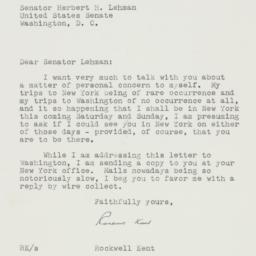 Letter: 1952 June 24